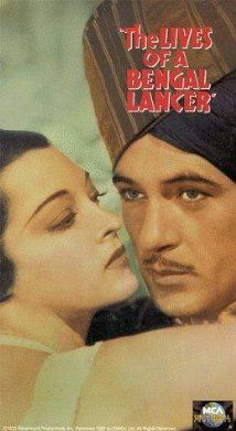 The Lives of a Bengal Lancer (1935) a trio of British soldiers in this sweeping saga set in colonial India. While stamping out an insurrection in the country's northwest frontier, the men wrestle with one another. They also struggle with their internal dissonance. The adventure film racked up eight Oscar nominations, including Best Picture, Best Director and Best Screenplay. Gary Cooper, Franchot Tone, Richard Cromwell...TS classic