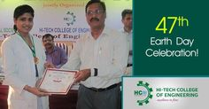 The 47th Earth Day was held on 22nd April 2016 in Hi-Tech College of Engineering. More then 50 students participated in the various activities like #Essay Writing, #Debate and #Painting also win the prizes by guests. #EarthDayCelebration #Prizes #Competition #HCE ======= http://goo.gl/pbhLre ======