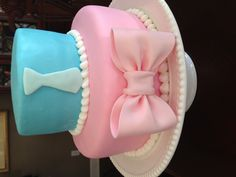 """Not sure I'd do a """"gender reveal"""" when the time comes, but this sure is cute!"""