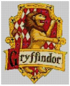5 for the price of 4 Harry Potter House Crest, Gryffindor, Ravenclaw, Slytherin, Hufflepuff  cross stitch PDF pattern chart. Sent by Email. £11.96, via Etsy.