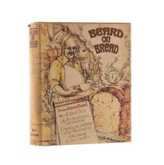 James Beard on Bread 1973 First Edition First Printing Cookbook Baking Cooking Book Dust Jacket HCDJ Retro Health Recipes If you love baking bread,