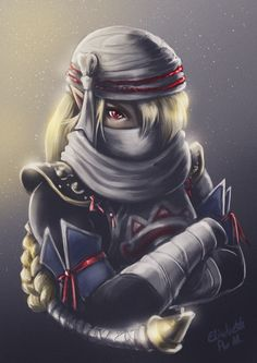 Hyrule Warriors - Sheik by Emeraldus on DeviantArt The Legend Of Zelda, Nintendo, Saga Zelda, Ninja, Hyrule Warriors, Kawaii, Sheik, Super Smash Bros, Fantasy Art