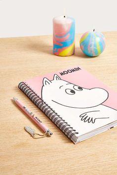 Slide View: 1: Moomin A5 Notebook