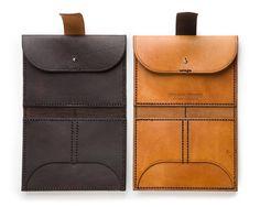 Handmade Leather Wallet by EleishaNylund on Etsy