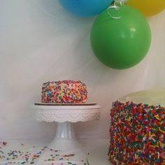 Happy Birthday to Adeline!#sprinkles #firstbirthday #smashcake