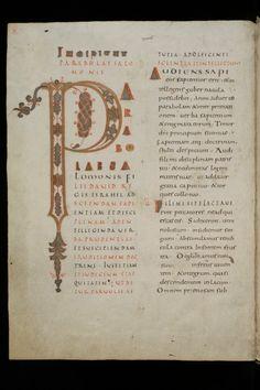 ca. third quarter of the 9th century   · 363 pp. · 42 x 31 cm · St.   St. Gallen, Stiftsbibliothek, Cod. Sang. 81: Bible (Prov, Eccl, Song, Wis, Sir, Job, Tob)