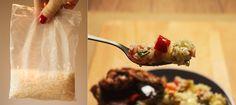 Orez cu legume şi aripioare picante – Mana Verde