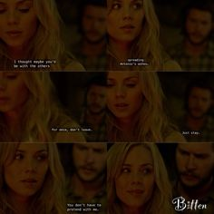 Clay and Elena | Bitten