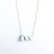 little shell trio necklace £13 www.midnightdeer.com #shell #mermaid #summerstyle #boho