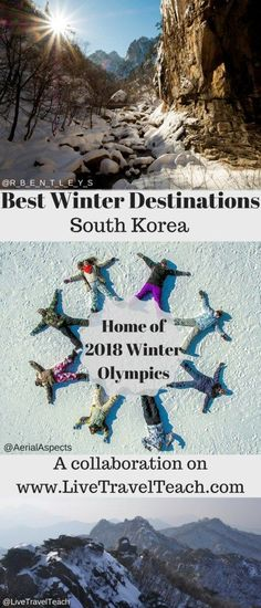 Winter Olympics are coming to Korea in 2018. Here are some of the best Winter activities in case you travel to Korea. Hiking, skiing, snowboarding and more!: