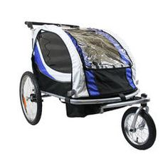 Croozer Kid for 2 (3-in-1 jogger/stroller/bike trailer) This is ...