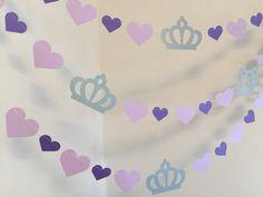 Guirnalda de cumpleaños de princesa  princesa Decor