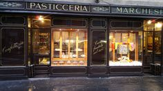 Pasticceria Marchesi has five-star service and insanely beautiful decor that's hard to beat. You can enjoy its fresh chocolates and brioche while walking through its unique antique shop upstairs.