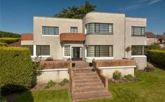 On the market: Fairbank 1930s art deco property in Cupar, Fife, Scotland on http://www.wowhaus.co.uk