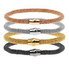 Bronzallure bracelets Bangle Bracelets, Bangles, Belt, Accessories, Fashion, Rose Gold, Shape, Fashion Trends, Wristlets