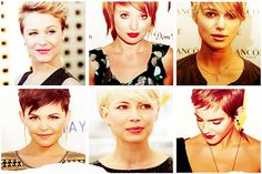 Pixies- love the pixie cut!