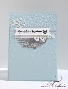 In {k} spire_me Challenge # 282 with winter colors and new spring products Lilac Fairy - Stampin 'Up! Hockenheim, Germany