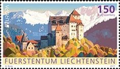 [EUROPA Stamps -  Palaces and Castles, tipo BVI]
