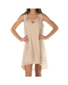 Umgee USA Women's High-Low Dress with Cut-Out Collar Detail and Lace Side Panels - Ivory  https://www.countryoutfitter.com/products/63612-womens-high-low-dress-with-cut-out-collar-detail-a?lhs=u_p_p_n_a&lhb=CO&lhc=womens_apparel&lhg=umgee_usa&utm_source=pinterest&utm_medium=social