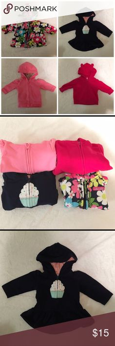 3 month baby girl zip up jackets 3 month old baby girl light jackets. Great for winter and fall months. Other