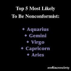 Horoscope Du Jour :    Description   Zodiac Signs: Top 5 Most Likely To Be Nonconformist    - #Horoscope https://madame.tn/horoscope/horoscope-du-jour-zodiac-signs-top-5-most-likely-to-be-nonconformist/