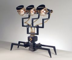 Retro light sculptures to decorate your mad scientist's laboratory