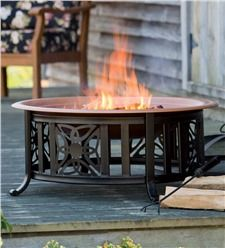 All-In-One Celtic Knot Fire Pit With Accessories Copper Fire Pit, Wood Burning Fire Pit, Fire Pit Sets, Fire Pits, Irish Cottage, Fire Pit Designs, Fire Pit Table, Patio Heater, Fire Pit Backyard