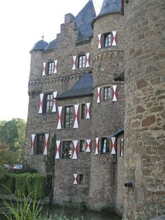 Castle in Germany, by Elaine
