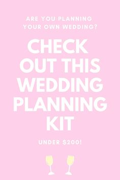 Are you planning your own wedding yourself? Check out expert planner Wheat & Weather's You & Me Intentionally wedding planning kit, available to shop online for under $200.