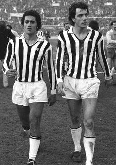 Claudio Gentile et Roberto Bettega