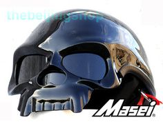 Most Badass Motorcycle Helmet Ever! Badass Motorcycle Helmets, Motorcycle Bike, Bicycle Helmet, Chopper Helmets, Skull Helmet, Gloss Matte, Fighting Irish, Sportbikes, Black Skulls