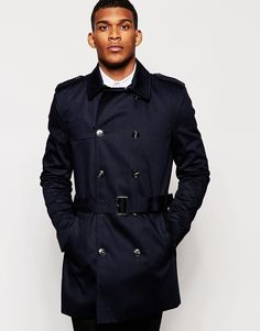 River Island Double Breasted Trench Coat