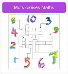 Mots croisés maths GS et primaire, pour apprendre l'écriture en lettre des chiffres de 0 à 10 en s'amusant. Les entrées peuvent être des chiffres ou des collections dont la valeur est écrite dans les grilles. Les mots croisés mathématiques sont conçu pour permettre à l'enfant de croncrétiser voir de développer ses acquis.