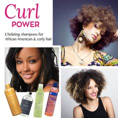 #Chelating #shampoo for curly African American #Hair