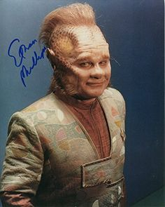 Ethan Phillips Signed / Autographed Star Trek Voyager 8x10 glossy photo as Neelix. Includes FANEXPO  @ niftywarehouse.com #NiftyWarehouse #StarTrek #Trekkie #Geek #Nerd #Products