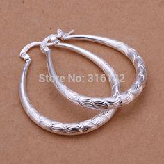 Wholesale fashion jewelry Earrings , 925 Silver Earrings . Nice Jewelry. Good Quality   EE295 #Affiliate