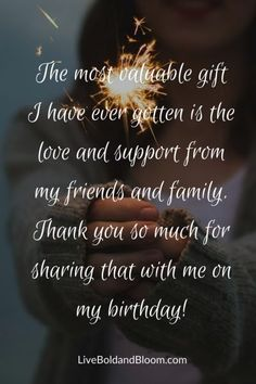 101 Of The Best Appreciation Messages to Show Your Gratitude Birthday Appreciation Message, Birthday Thanks Message, Birthday Wishes Reply, Thank You Quotes For Birthday, Birthday Message To Myself, Thank You For Birthday Wishes, Birthday Wishes For Friend, Happy Birthday Wishes Quotes, Appreciation Quotes