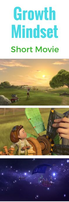 A short movie for kids teaching growth mindset - with a corresponding lesson plan More