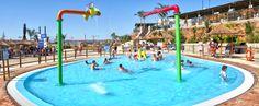 La #piscina de chapoteo es la zona segura donde los niños podrán disfrutar de un divertido baño #acuatico