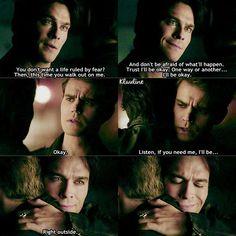 "#TVD 7x22 ""Gods & Monsters"" - Stefan and Damon"