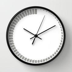concrete impression wall clock | my city loft | pinterest | wall
