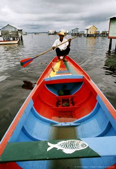 Fisherman, Lake Maracaibo, Venezuela.