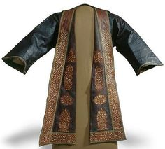 Ottoman jacket made of leather, second half of the and the century. Ottoman Turks, Ethnic Design, Piece Of Clothing, Male Clothing, Steampunk Costume, Fantasy Costumes, Period Outfit, Ottoman Empire, Historical Clothing