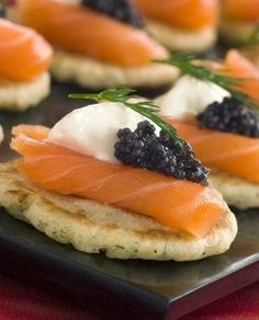 Elegant, sophisticated and completely indulgent, blini topped with smoked salmon, crème fraîche and caviar has to be one of the ...