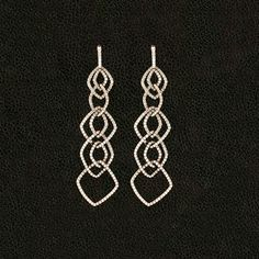 Cascading Dangle Diamond Earrings – CRAIGER DRAKE DESIGNS®