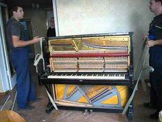 Перевозка пианино. Рекомендуем посмотреть.