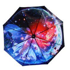 Fashion Folding Horoscopes Star Signs Anti-Uv Rain Sun Umbrella Paraguas Parasol #ebay #Fashion