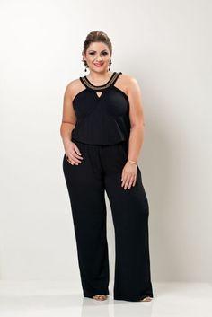 Plus Size Jumpsuit, Plus Size Bikini, Chiffon Shirt, New Wardrobe, Pants Outfit, Business Fashion, Casual Looks, Plus Size Outfits, Plus Size Fashion