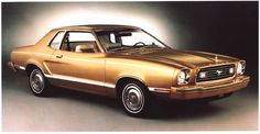 mustang ii copper with orange interior - Google Search