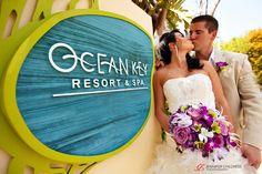 A wedding at the Ocean Key Resort & Spa
